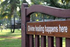 DIVINE HEALING HAPPENS HERE